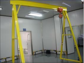2吨龙门吊架厂家,移动龙门吊架尺寸定做