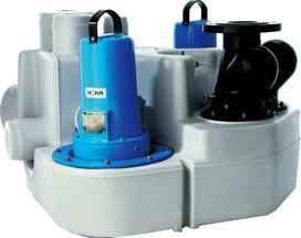 HOMA 污水提升器 双泵系列 Sanistar 205