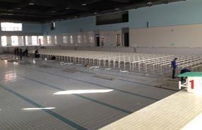 游泳池PVC垫层