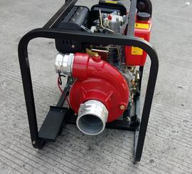 柴油电启动消防泵4寸