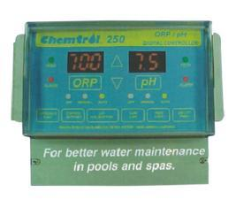 供应游泳池水质监测设备-美国卫星250#水质监控仪