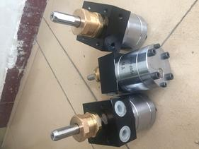 6cc圆形静电输漆齿轮泵浦
