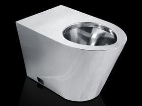 新凯节水型不锈钢坐便器 304材质 1.2厚