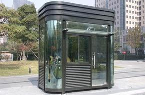 宁波钢化玻璃岗亭