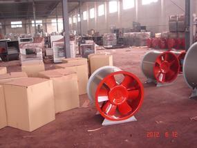HTF-X消防轴流排烟风机型号齐全