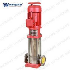 立式多级电动消防泵组