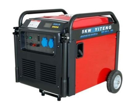 5千瓦汽油发电机 数码变频汽油发电机
