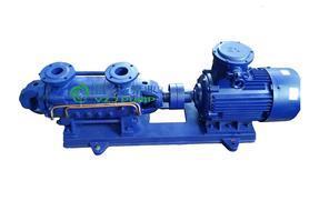 D型系列防爆带煤安证卧式多级离心泵