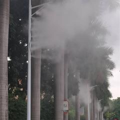 路灯用旋转喷雾路灯杆喷雾系统