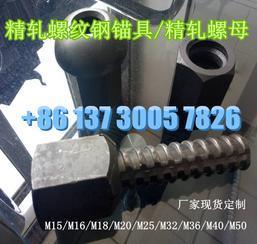精轧螺纹钢螺母生产厂家晓军紧固件/精轧连接器/垫板M25/M32/M40