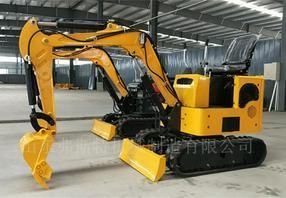 超小型履带式挖掘机挖沟破碎