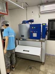 水产加工片冰机500公斤制冰机
