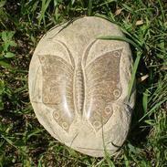 溪石蝴蝶雕刻
