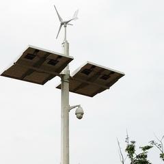 风光互补监控发电系统_水库视频监控方案_广州英飞风力发电机