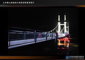 华明九州 桥体照明