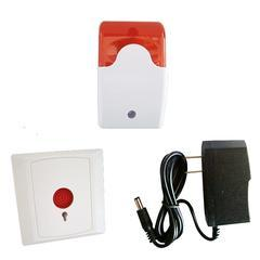 24V残疾人求助报警器 无线紧急报警系统 带电池残卫报警器