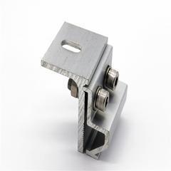 金属屋面导轨安装夹具