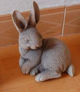 兔子石雕工艺/石雕工艺 GAB493