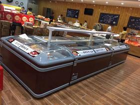 厂家供应直冷岛柜,制冷岛柜,汤圆水饺冷冻柜,鱼丸肉丸冷冻柜