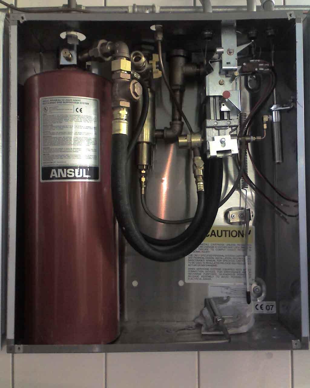食人鱼(PIRANHA)厨房灭火系统