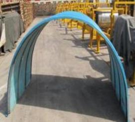 河北衡水玻璃钢输送机防雨罩价格