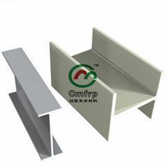 玻璃钢型材--玻璃钢工字钢 矩形管