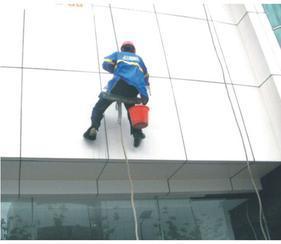 广州市大厦玻璃幕墙清洗