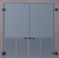 变压器门、变压器室钢大门、04J610-1特种门