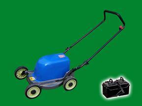 绿节牌环保节能胶电型17寸电动草坪机_割草机_剪草机