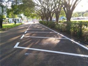 道路交通标线丨车位标线丨划线工程施工