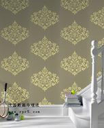 法国戴高乐壁纸成装修品牌 吸引市场眼球墙纸批发