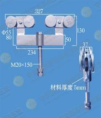 可调式滑轮组Z-1000型双轮承重1000公斤