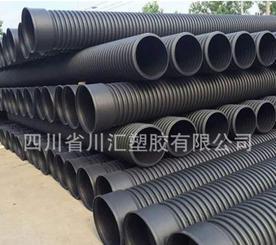 厂家直销HDPE双壁波纹管dn300 聚乙烯hdpe塑料波纹管 排水管
