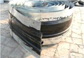 钢板橡胶止水带300宽涵洞专用