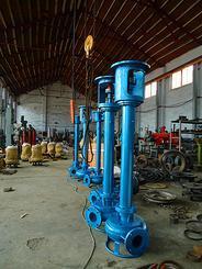 立式液下泥浆泵 长轴式泥浆泵 液下泥沙渣浆泵