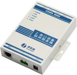 康耐德2串口服务器C2000 N220,RS485/422转TCP/IP,RS232转RJ45