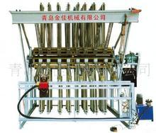 世界名牌金佳半自动拼板机--制造4米5型20排液压半自动拼板机