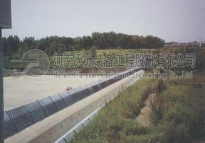 天元装备特种钢盾坝厂家 橡胶坝改造 拦河闸施工 设计