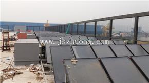 苏州正大会员商场打造平板太阳能热水工程