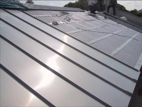 永和县中阳县文水县铝镁锰板钢结构屋面