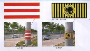 电线杆防撞反光警示贴