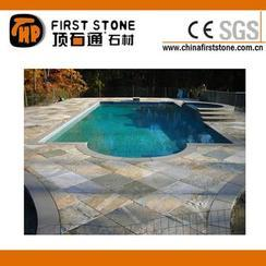 板岩泳池缘石砖