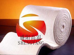 平顶隧道窑碳化炉专用陶瓷纤维毯