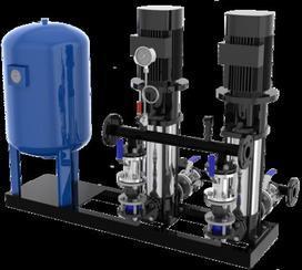 供应采暖系统 中央空调系统定压补水