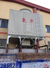 河南菱宇100吨方形横流式冷却塔