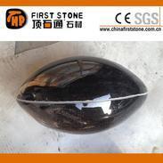 黑色花岗岩橄榄球GAC010