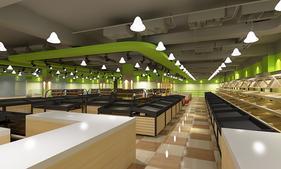 长沙农贸商场设计,长沙农贸市场改造升级就选长沙壹番设计