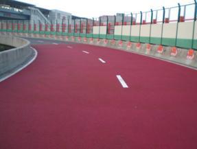 黑龙江陶瓷颗粒防滑路面