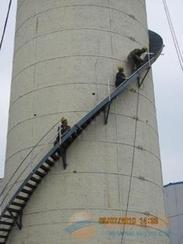 烟囱设计制作安装Z形钢折梯、安装螺旋形爬梯、旋转形爬梯、之字形钢楼梯、