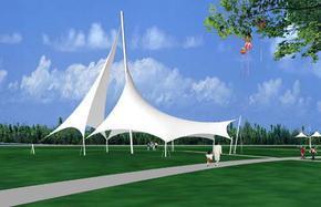 贵州公园舞台膜结构 广场造型张拉膜 公园张拉膜 广场张拉膜 园林景观膜 广场小品膜 舞台遮阳膜